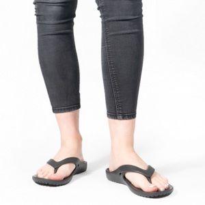 CROCS Women's Kadee II Flip Flop Sandals, sz 7